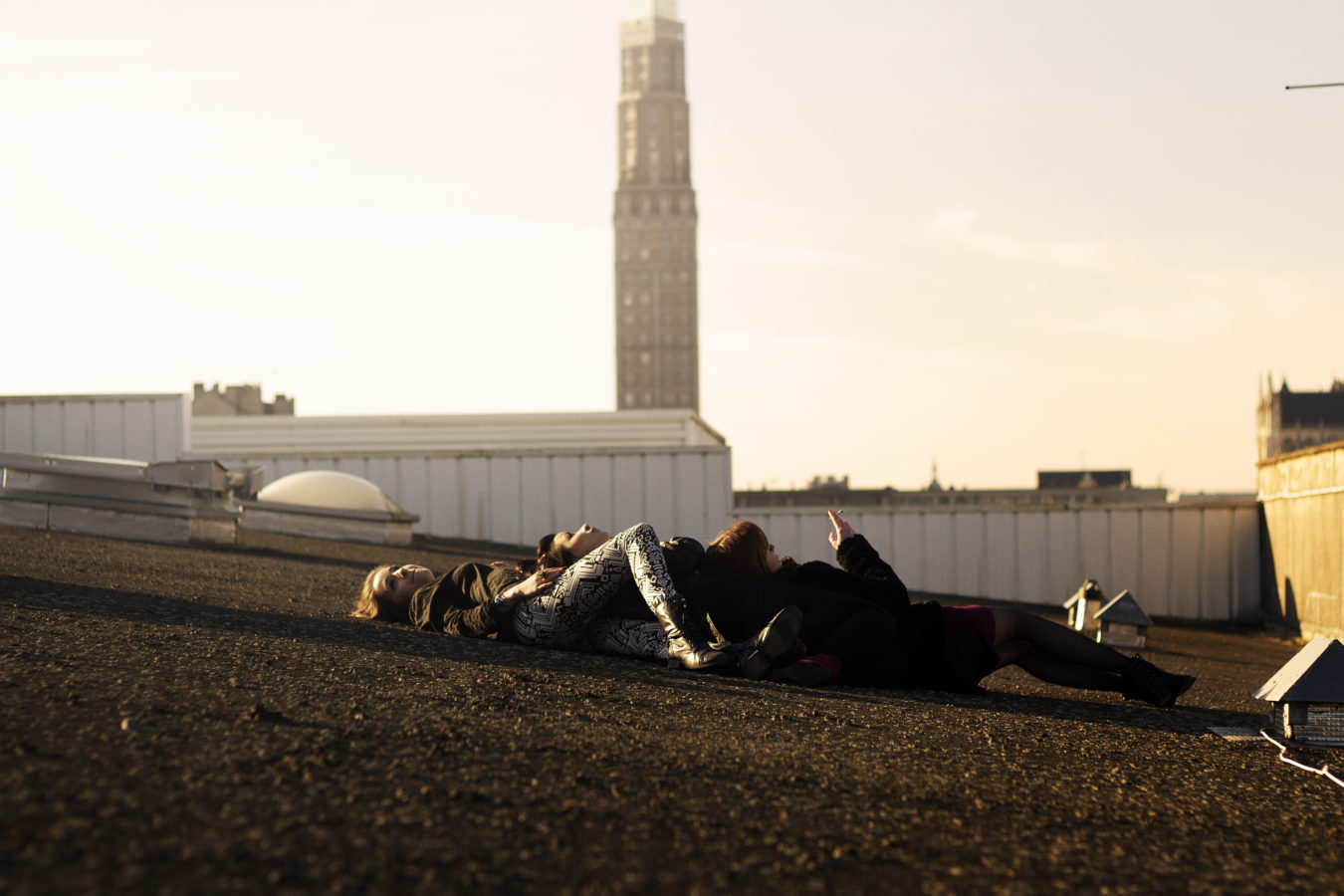 Rooftop, Amiens, Filles, Groupe, Youth